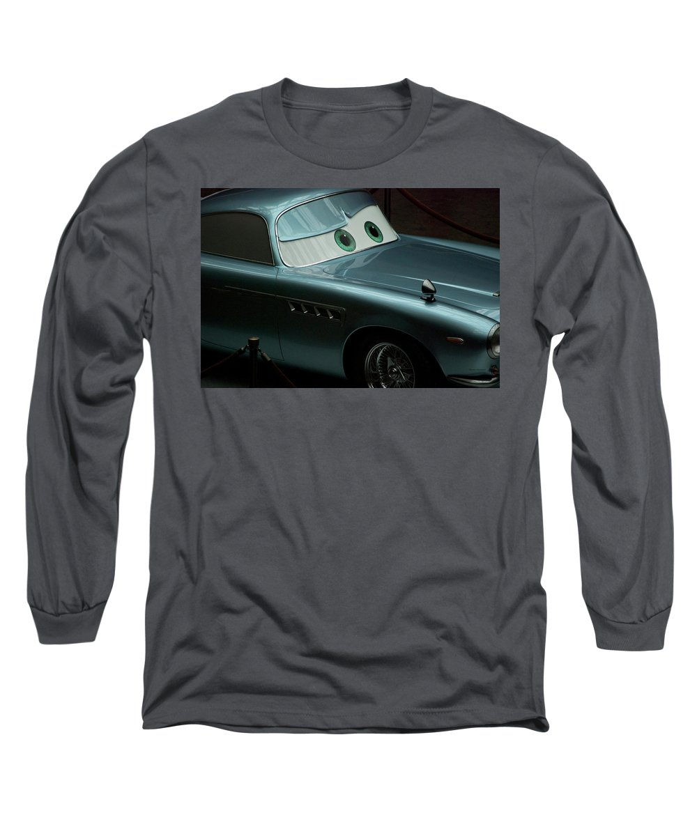 Finn Mcmissile Long Sleeve T-Shirt featuring the photograph Green Eyed Finn Mcmissile Mp by Thomas Woolworth