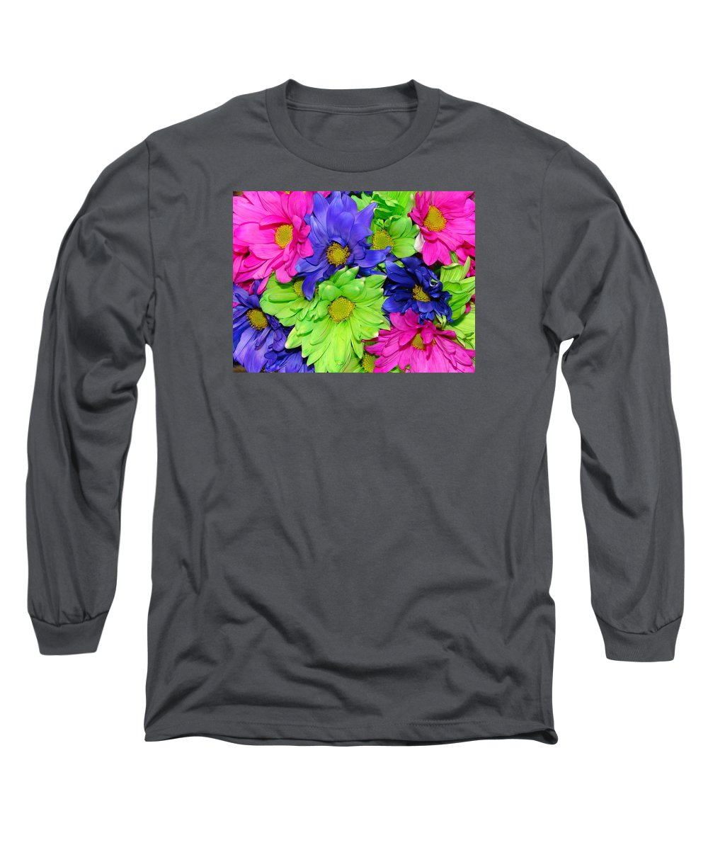 Flowers Long Sleeve T-Shirt featuring the photograph Happiness by J R  Seymour