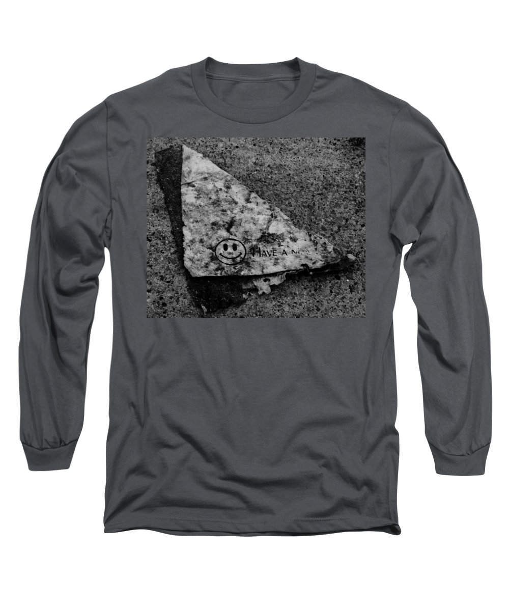 Debris Long Sleeve T-Shirt featuring the photograph Have A Nice Day by Angus Hooper Iii