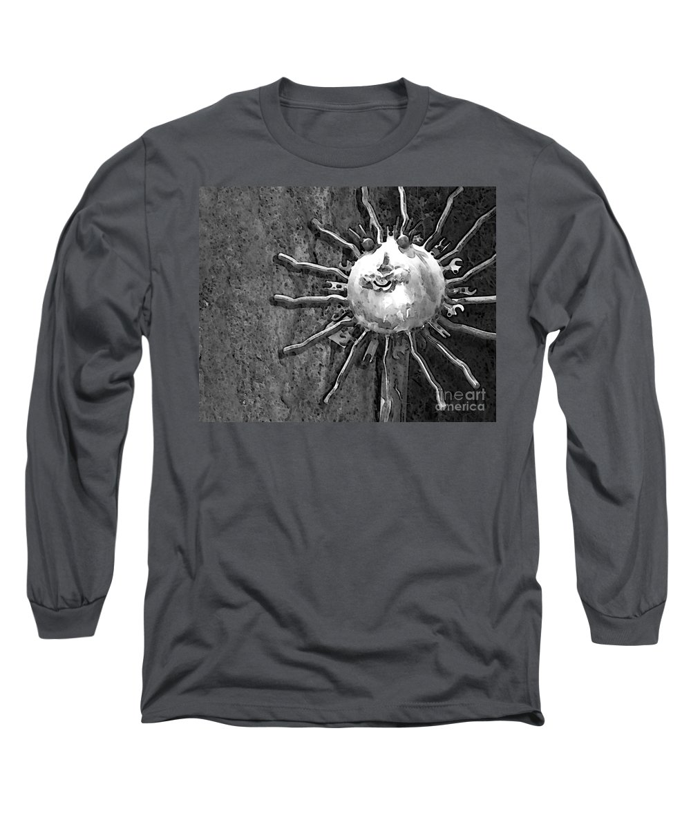 Sun Long Sleeve T-Shirt featuring the photograph Here Comes The Sun by Debbi Granruth