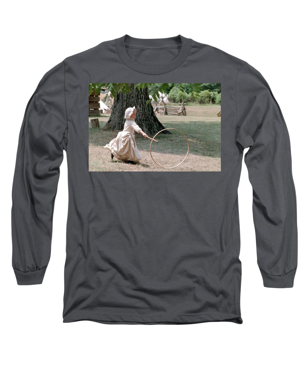 Hoop Long Sleeve T-Shirt featuring the photograph Hoop by Flavia Westerwelle