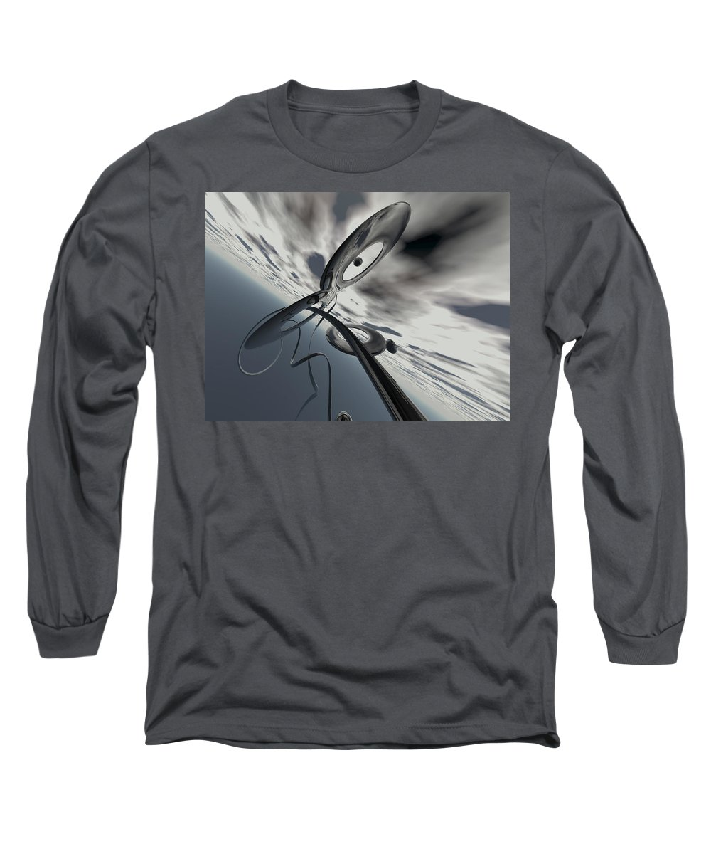 Scott Piers Long Sleeve T-Shirt featuring the painting Id2a by Scott Piers