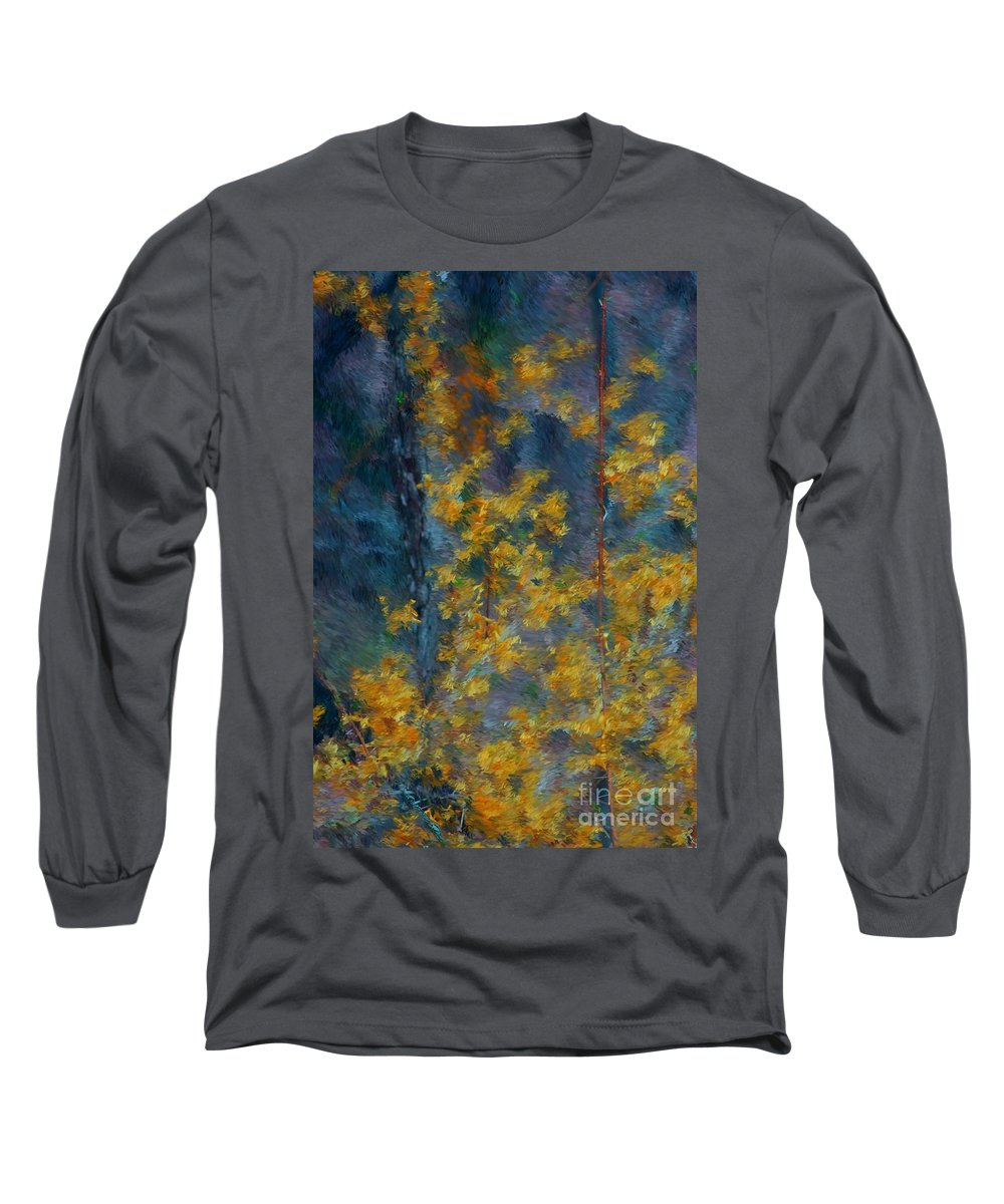 Long Sleeve T-Shirt featuring the photograph In The Woods by David Lane
