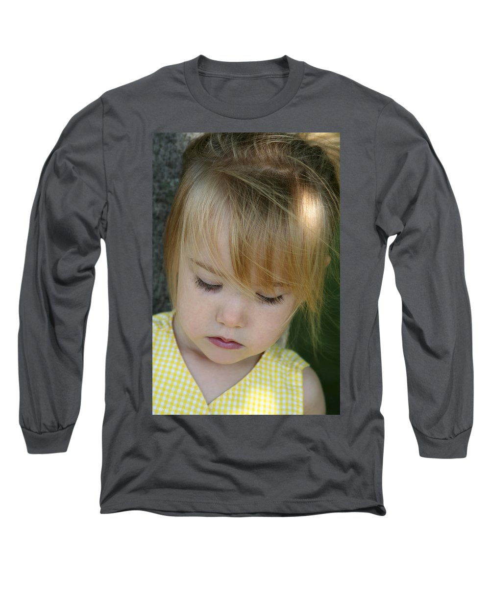 Angelic Long Sleeve T-Shirt featuring the photograph Innocence II by Margie Wildblood