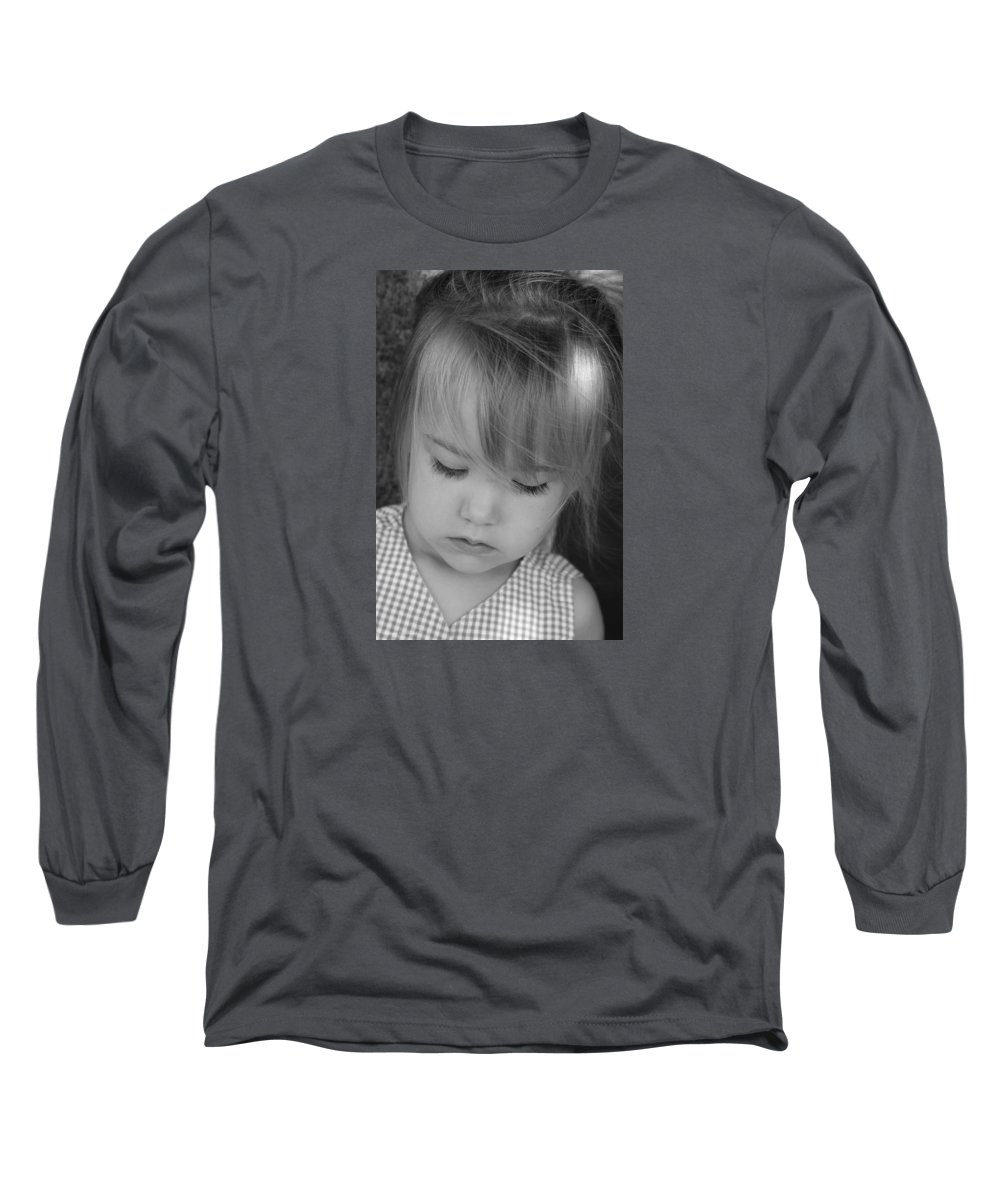 Angelic Long Sleeve T-Shirt featuring the photograph Innocence by Margie Wildblood