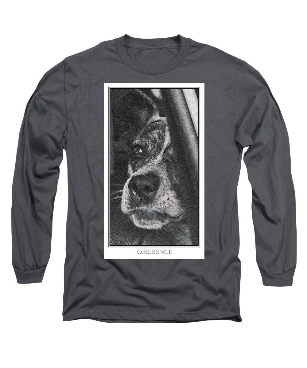 Dog Long Sleeve T-Shirt featuring the photograph Jazz by Karen W Meyer