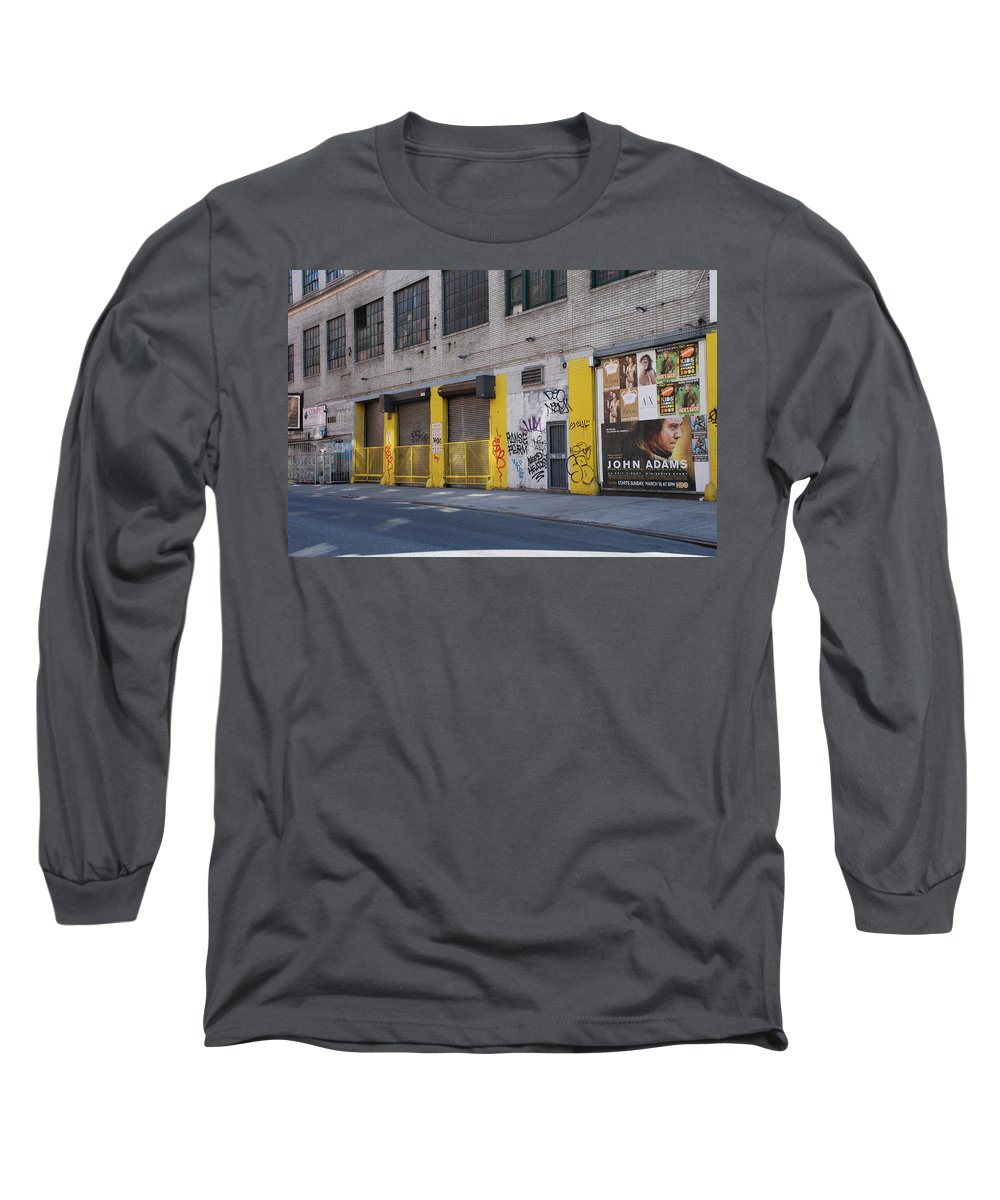 Architecture Long Sleeve T-Shirt featuring the photograph John Adams by Rob Hans
