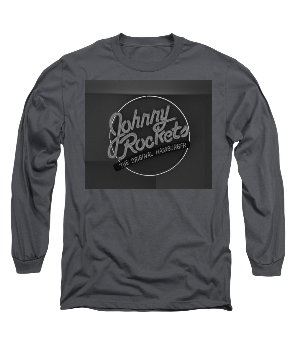 Macro Long Sleeve T-Shirt featuring the photograph Johnny Rockets by Rob Hans