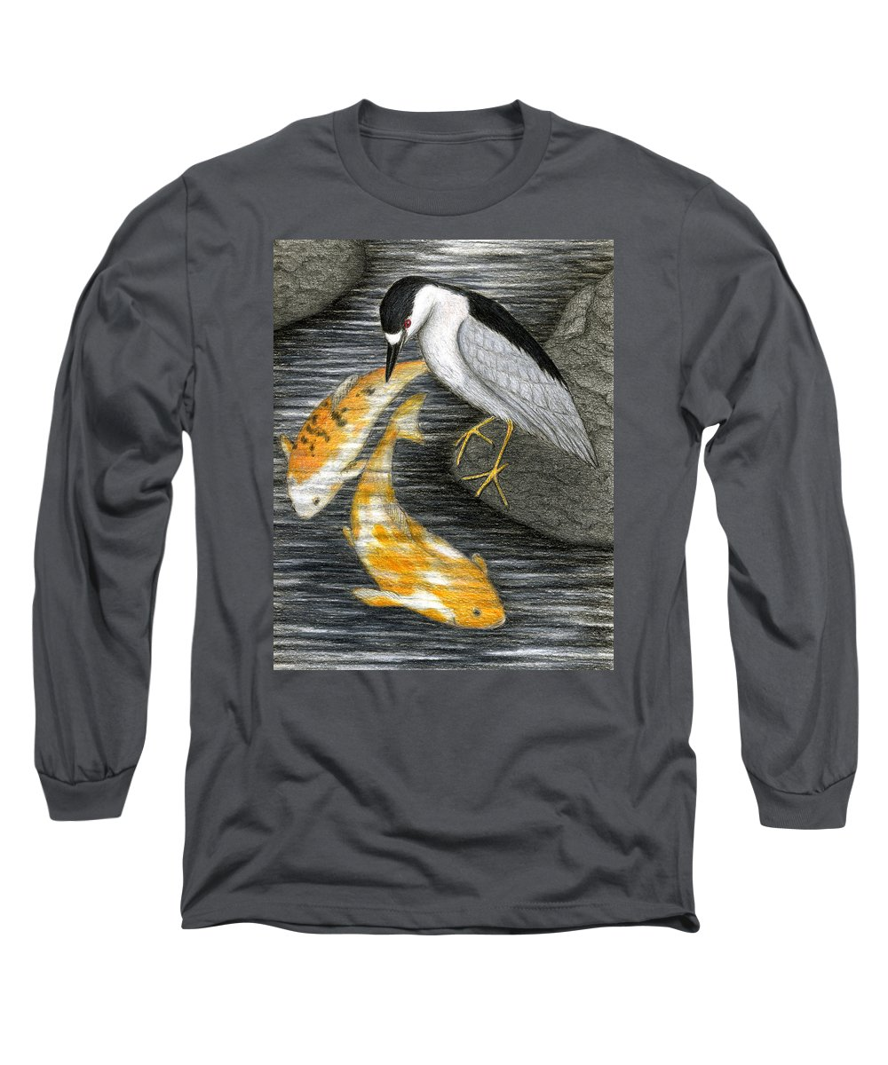 Art Long Sleeve T-Shirt featuring the painting Keep Dreaming by Don McMahon