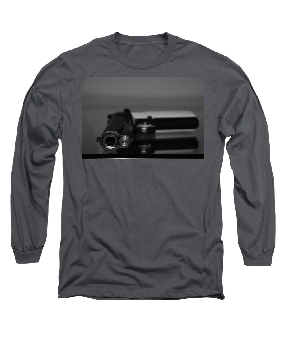 45 Auto Long Sleeve T-Shirt featuring the photograph Kimber 45 by Rob Hans