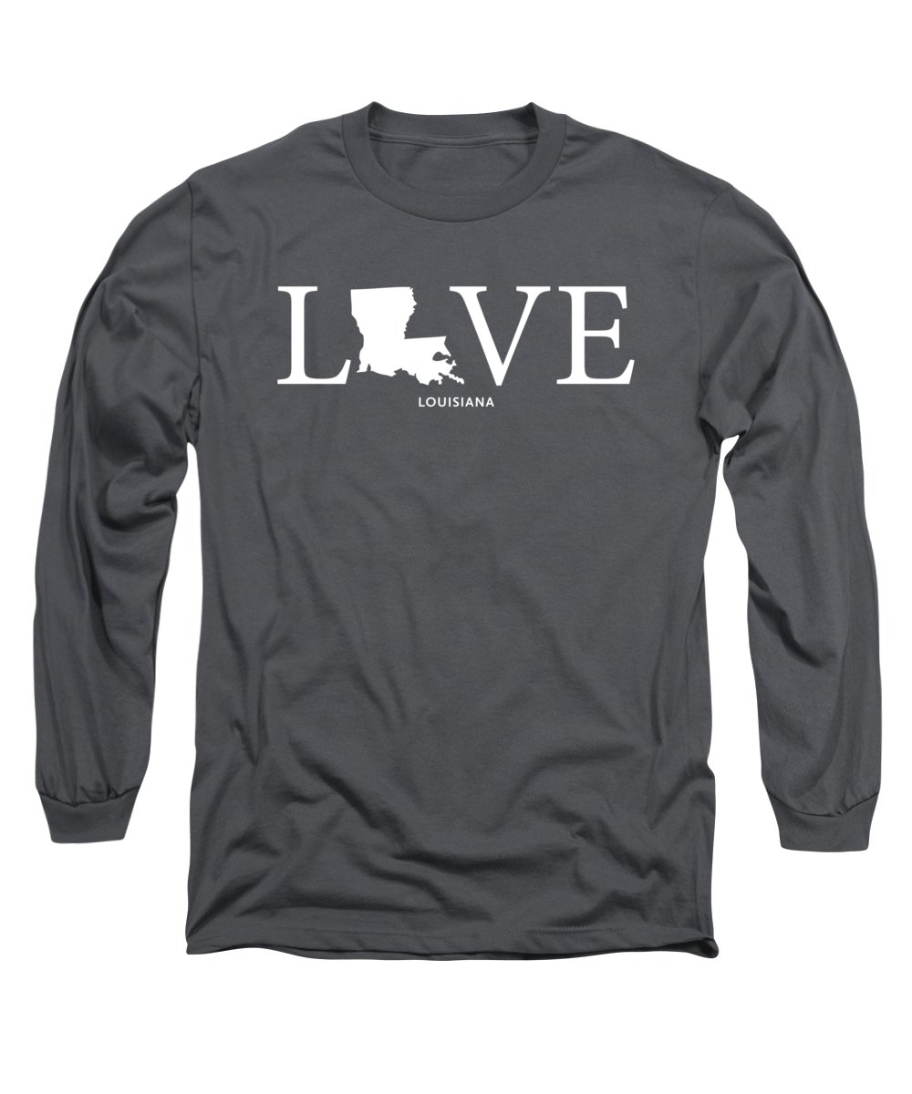Long Sleeve T-Shirt featuring the mixed media La Love by Nancy Ingersoll