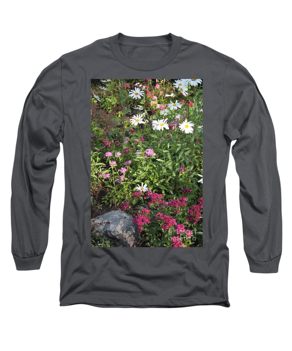 Garden Long Sleeve T-Shirt featuring the photograph Lake Tahoe Garden by Carol Groenen