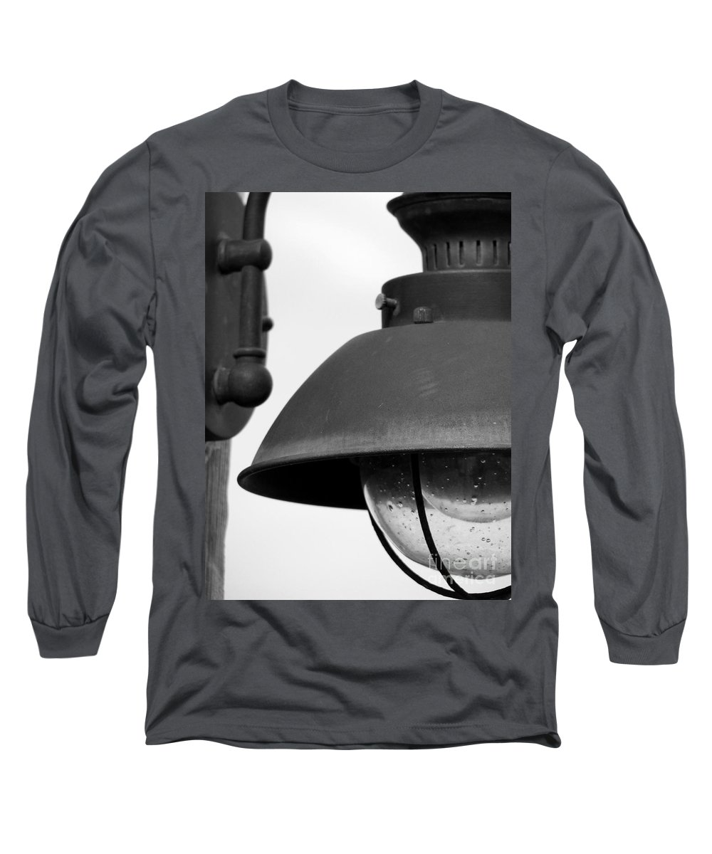 Lamppost Long Sleeve T-Shirt featuring the photograph Lamp Post by Amanda Barcon