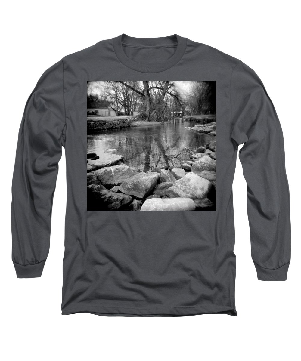 Photograph Long Sleeve T-Shirt featuring the photograph Le Tort Reflection by Jean Macaluso