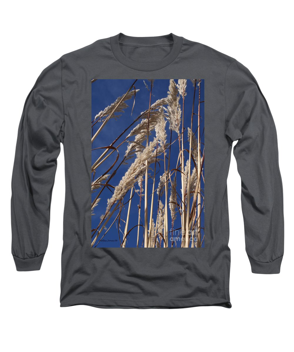 Photography Long Sleeve T-Shirt featuring the photograph Line And Loop by Shelley Jones
