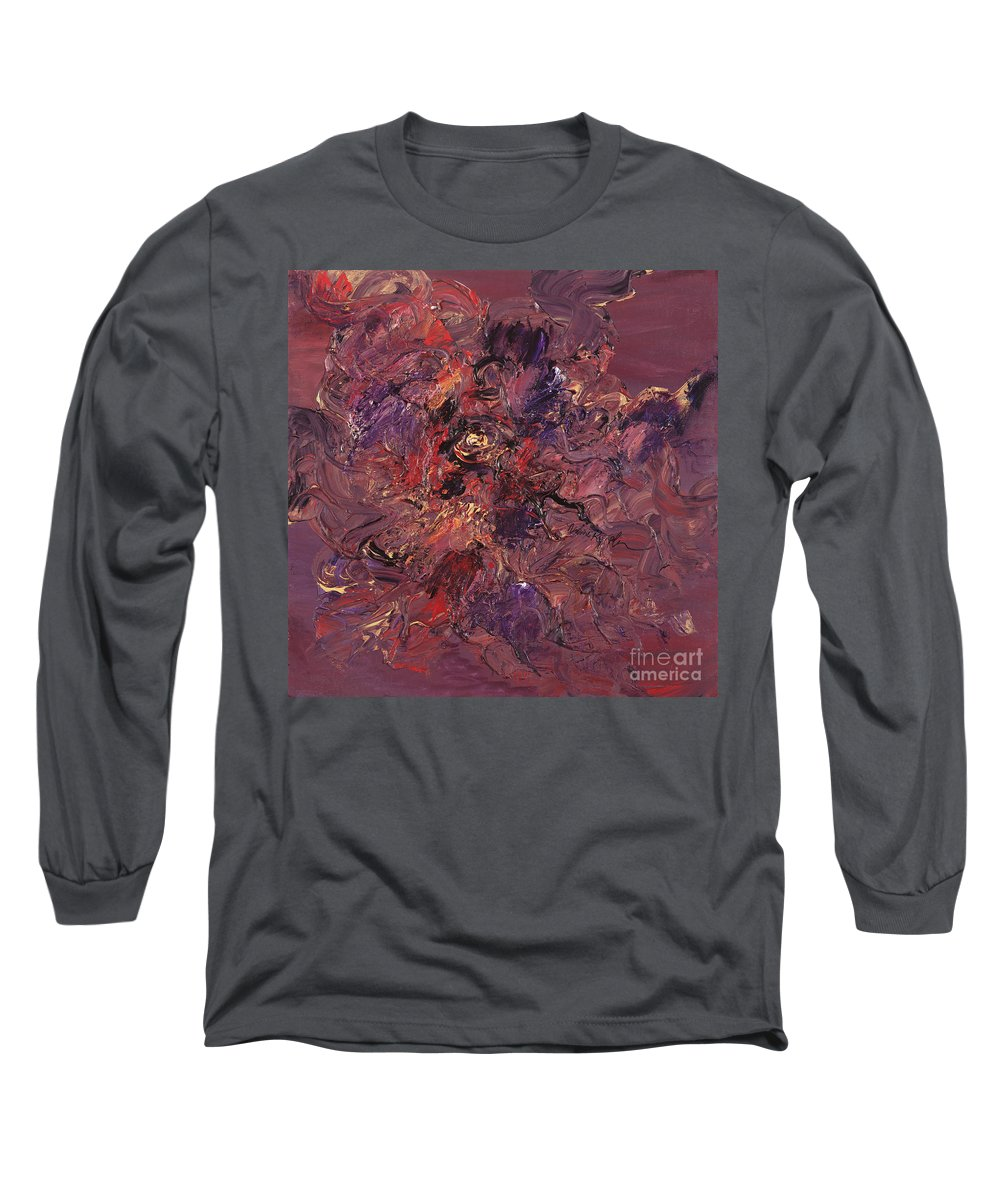 Love Long Sleeve T-Shirt featuring the painting Love by Nadine Rippelmeyer