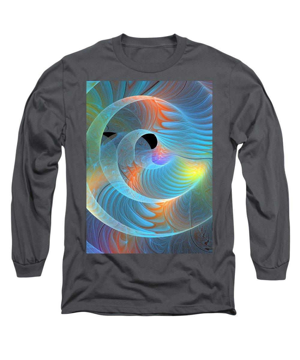 Digital Art Long Sleeve T-Shirt featuring the digital art Moment Of Elation by Amanda Moore