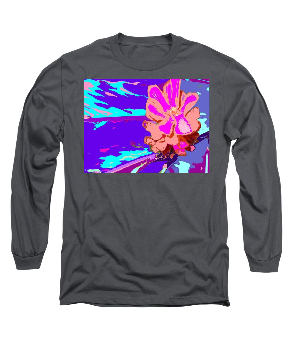 Flower Long Sleeve T-Shirt featuring the photograph Mystical Flower by Ian MacDonald