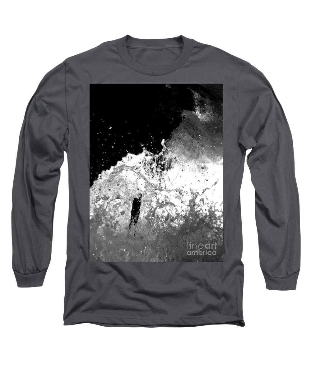 Water Long Sleeve T-Shirt featuring the photograph Natural Power by Amanda Barcon