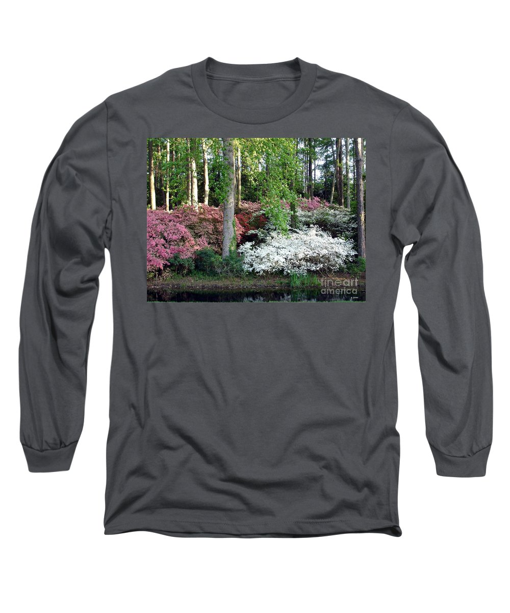 Landscape Long Sleeve T-Shirt featuring the photograph Nature 2 by Shelley Jones