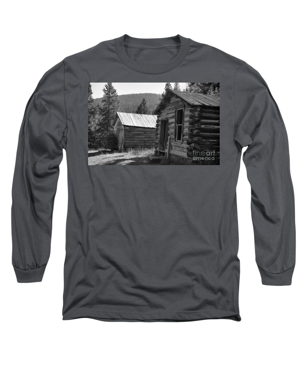 Abandoned Long Sleeve T-Shirt featuring the photograph Neighbors by Richard Rizzo
