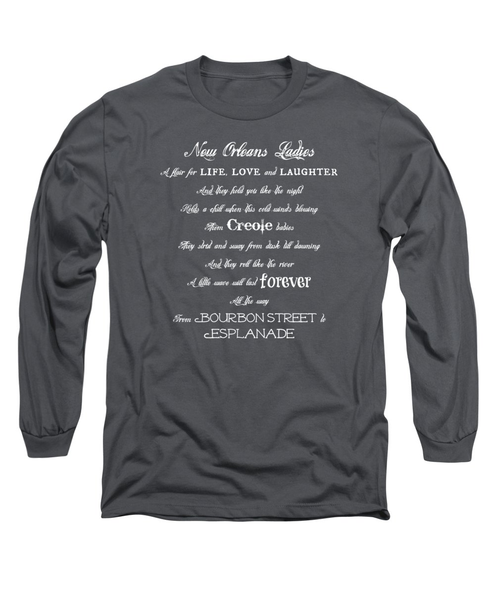 New Orleans Long Sleeve T-Shirt featuring the photograph New Orleans Ladies by Southern Tradition