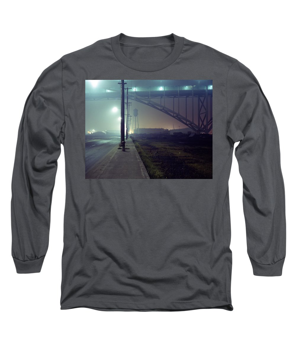 Night Photo Long Sleeve T-Shirt featuring the photograph Nightscape 2 by Lee Santa