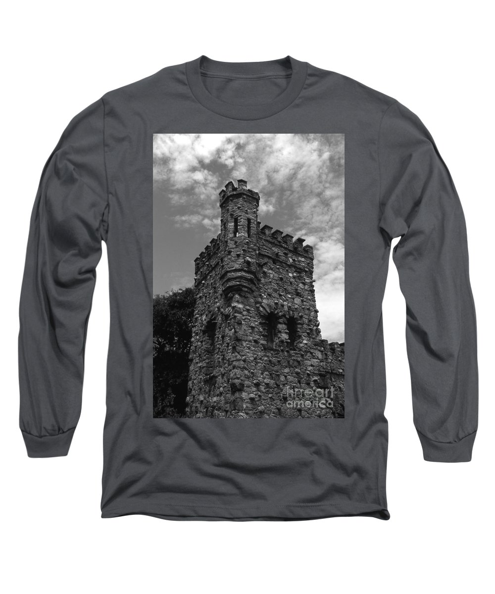 Castle Long Sleeve T-Shirt featuring the photograph Once Upon A Time by Richard Rizzo