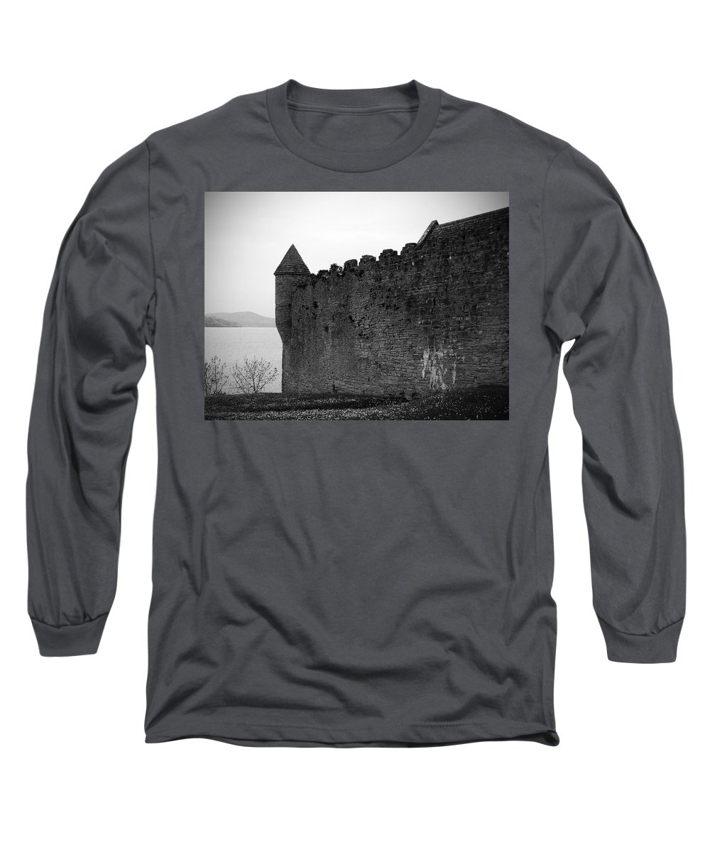 Ireland Long Sleeve T-Shirt featuring the photograph Parkes Castle County Leitrim Ireland by Teresa Mucha