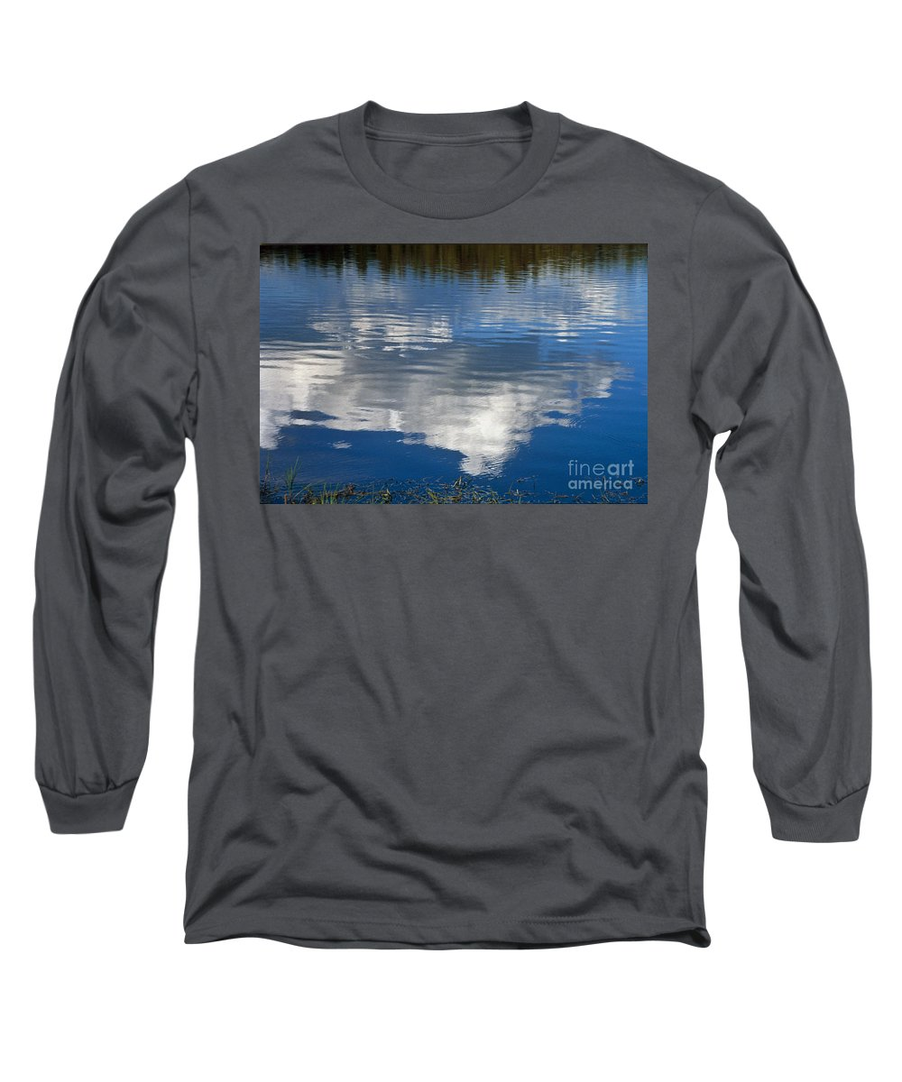 Landscape Long Sleeve T-Shirt featuring the photograph Peace by Kathy McClure