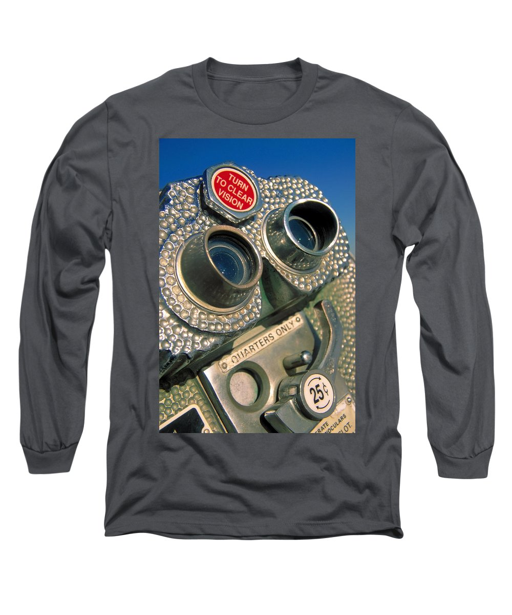 View Long Sleeve T-Shirt featuring the photograph Peep Show by Skip Hunt
