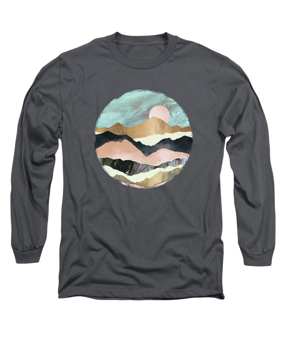 Salmon Long Sleeve T-Shirts