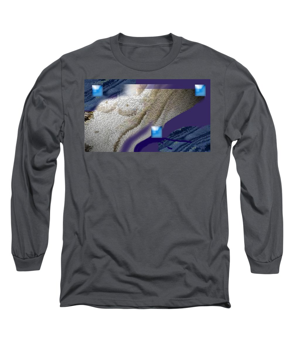 Abstract Long Sleeve T-Shirt featuring the digital art Prelude To A Dream by Steve Karol