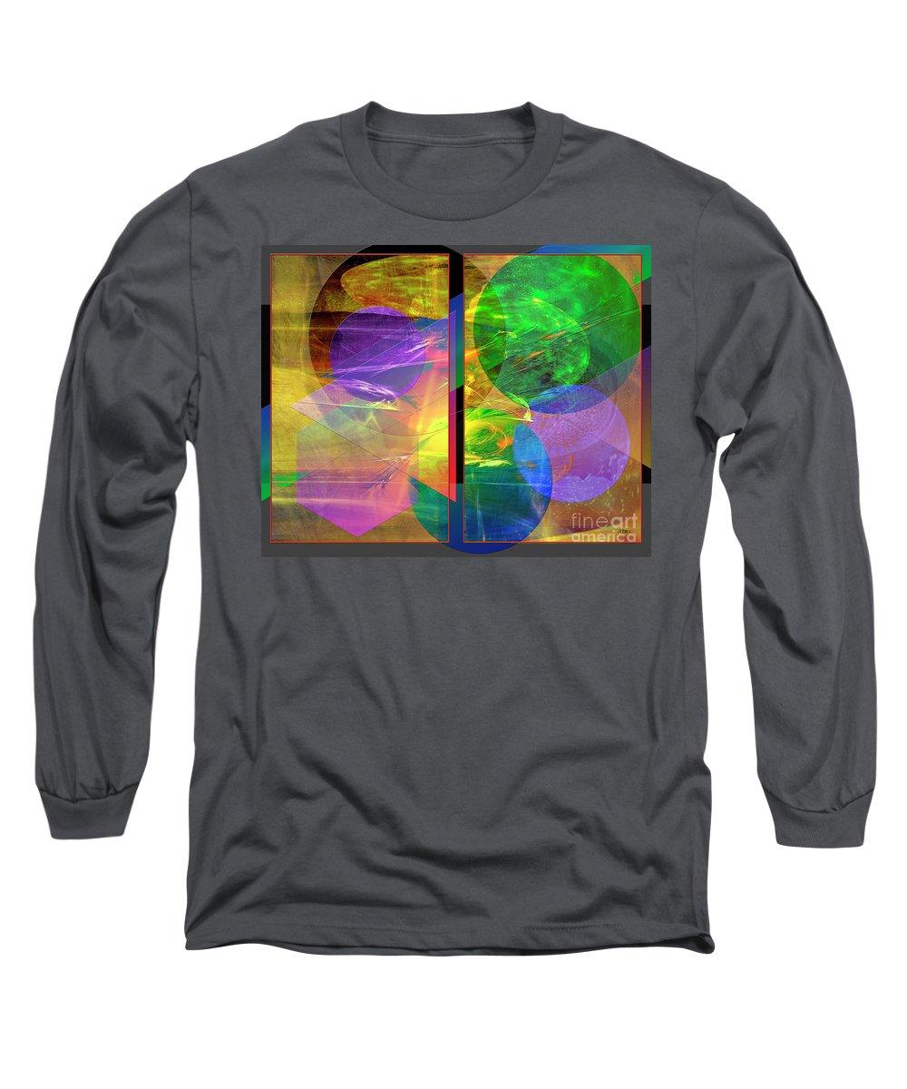 Progressive Intervention Long Sleeve T-Shirt featuring the digital art Progressive Intervention by John Beck