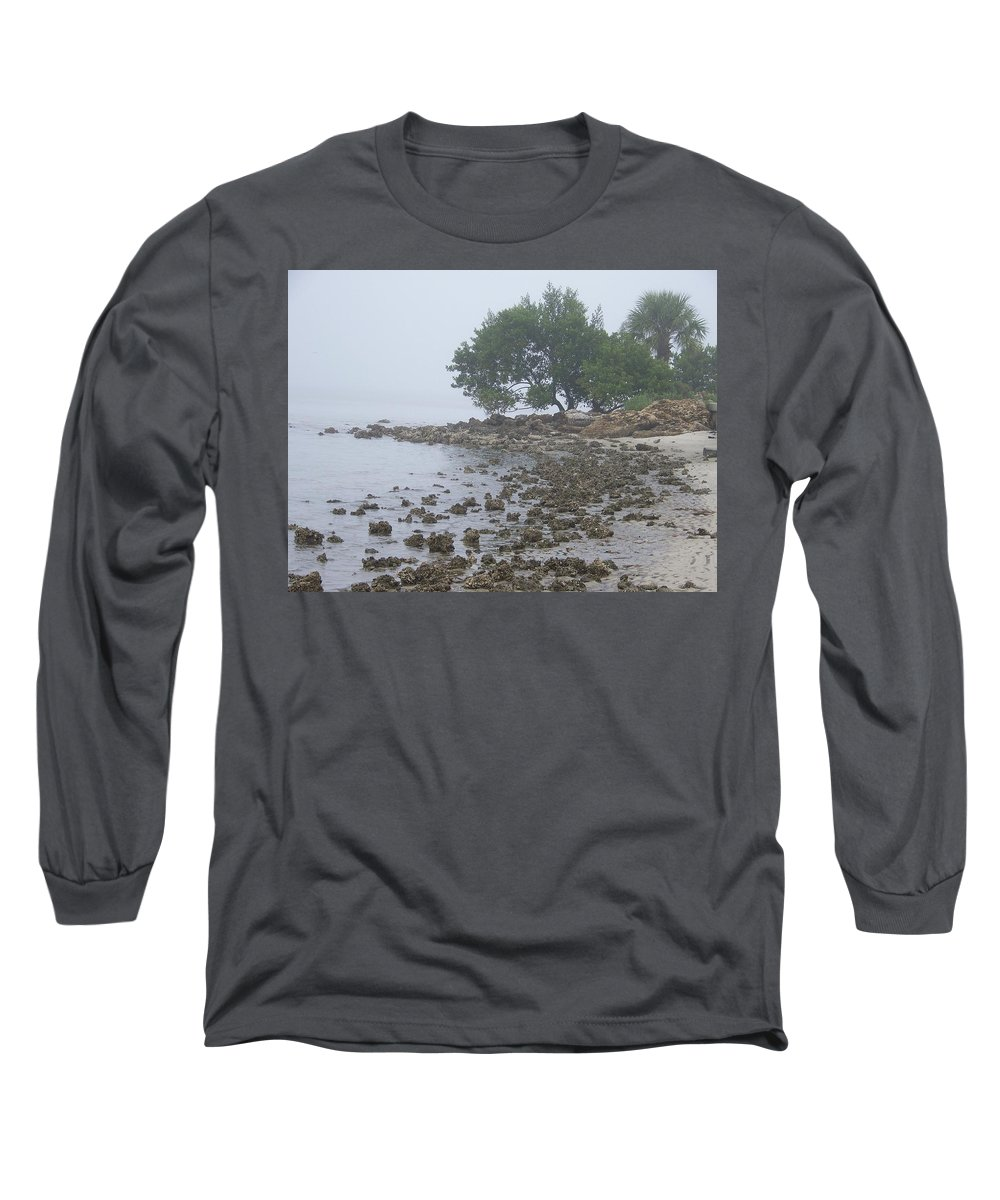 Mist Long Sleeve T-Shirt featuring the photograph Punta Gorda by Laurie Paci