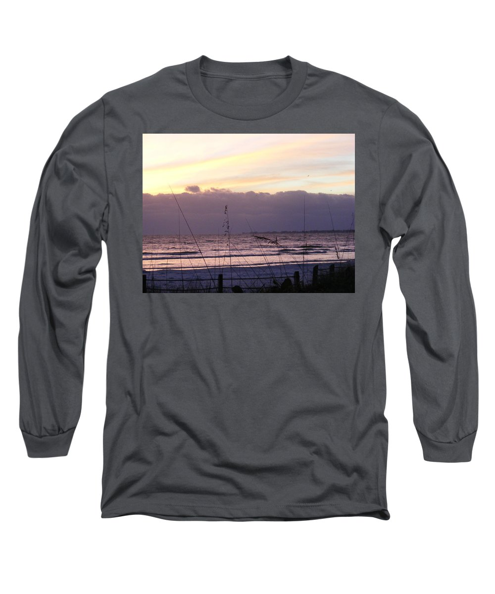 Landscape Long Sleeve T-Shirt featuring the photograph Purple Haze by Ed Smith