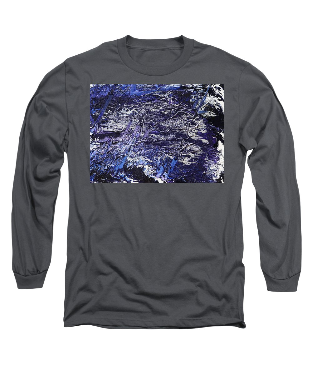 Fusionart Long Sleeve T-Shirt featuring the painting Rapid by Ralph White