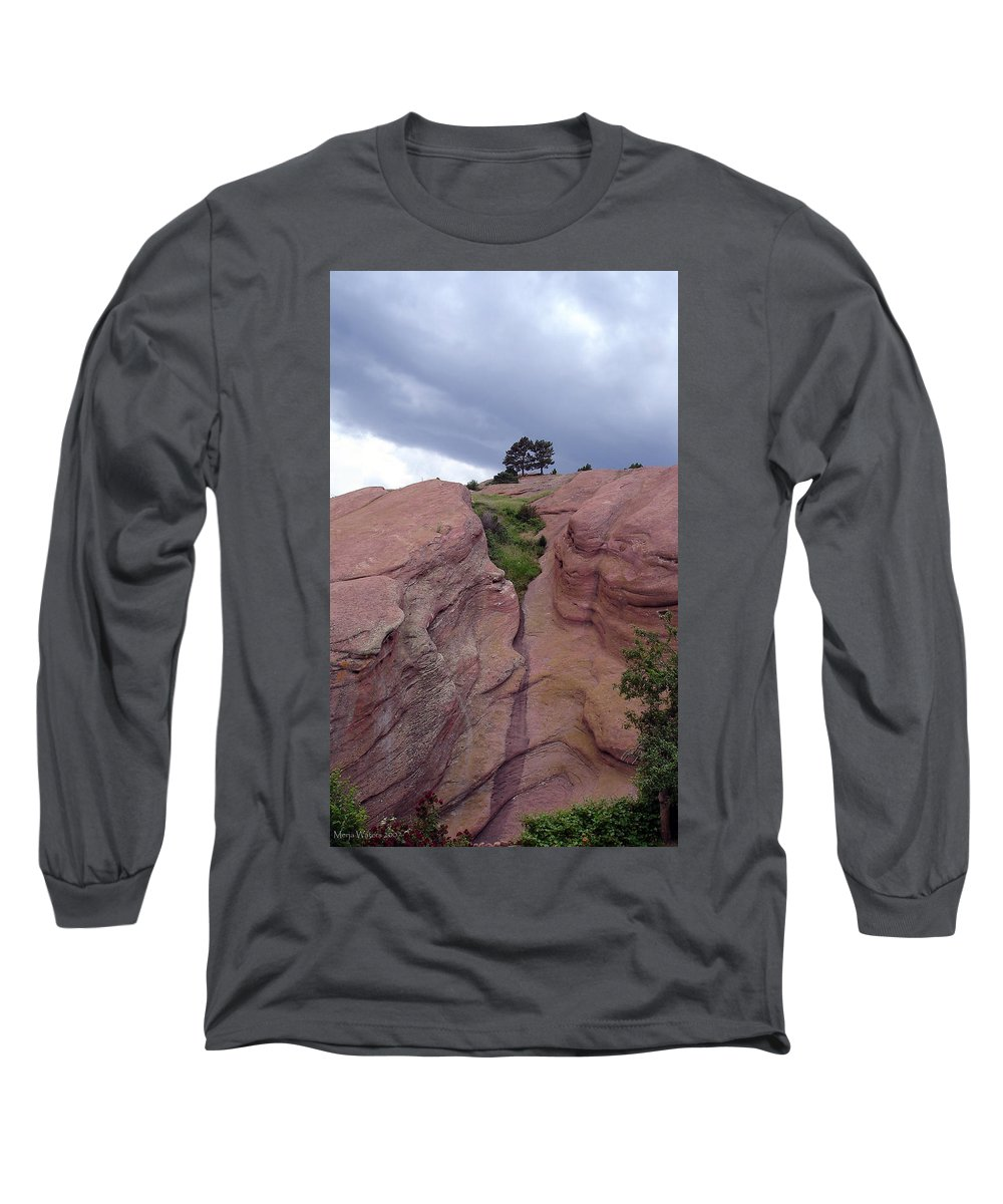Red Rocks Long Sleeve T-Shirt featuring the photograph Red Rocks by Merja Waters