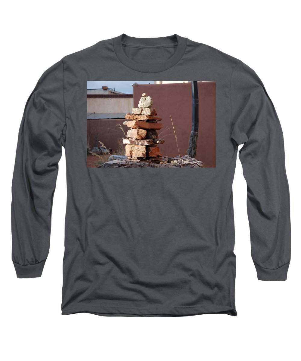 Pop Art Long Sleeve T-Shirt featuring the photograph Sante Fe Rocks by Rob Hans