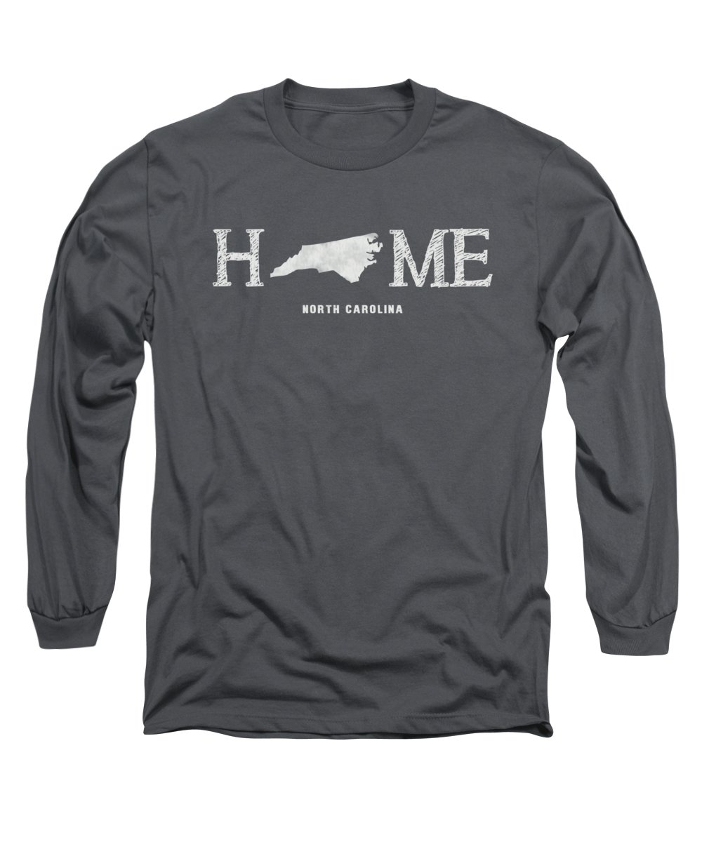 South Carolina Long Sleeve T-Shirt featuring the mixed media Sc Home by Nancy Ingersoll