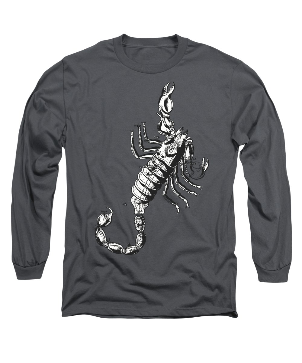 Scorpio Digital Art Long Sleeve T-Shirts