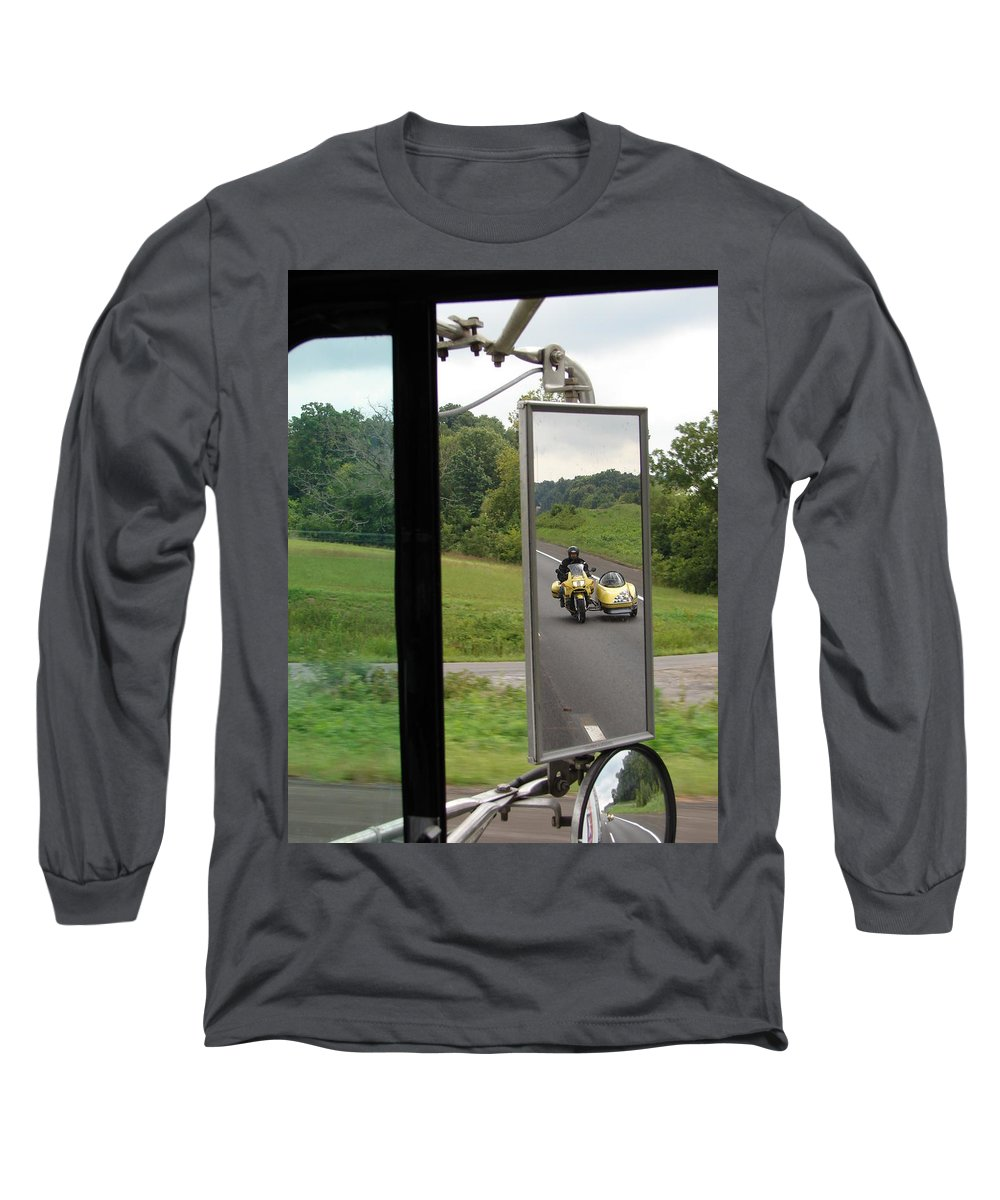 Truck Long Sleeve T-Shirt featuring the photograph Side Car Framed by J R  Seymour