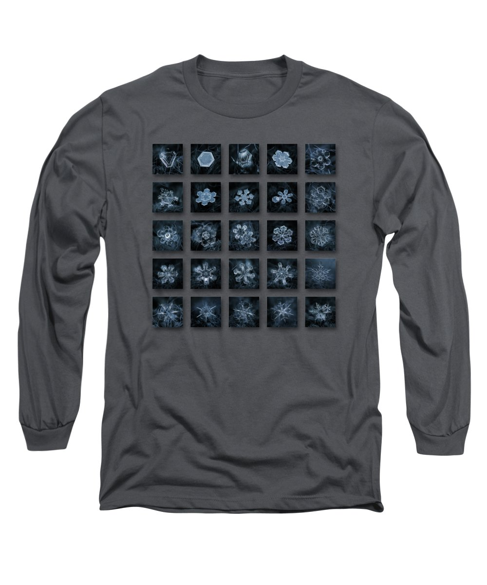 Pattern Photographs Long Sleeve T-Shirts