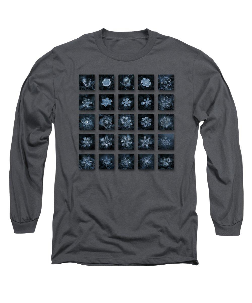 Closeup Photographs Long Sleeve T-Shirts