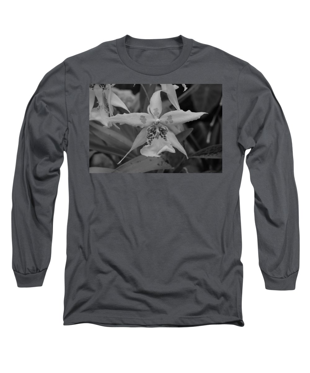 Macro Long Sleeve T-Shirt featuring the photograph Star Flower by Rob Hans