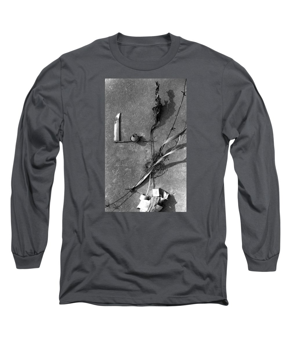 Still Life Long Sleeve T-Shirt featuring the photograph Still Forms by Ted M Tubbs