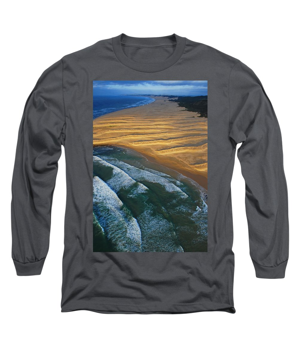 Coast Long Sleeve T-Shirt featuring the photograph Sun Rise Coast by Skip Hunt