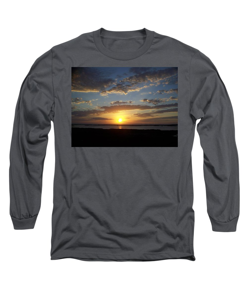 Sunset Long Sleeve T-Shirt featuring the photograph Sunset 0007 by Laurie Paci