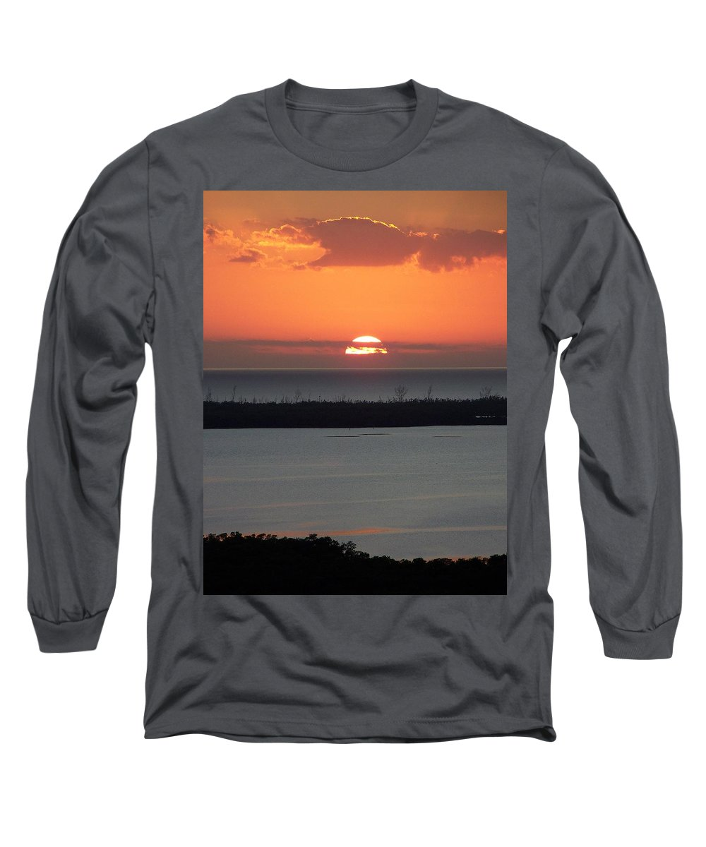 Sunset Long Sleeve T-Shirt featuring the photograph Sunset 0015 by Laurie Paci