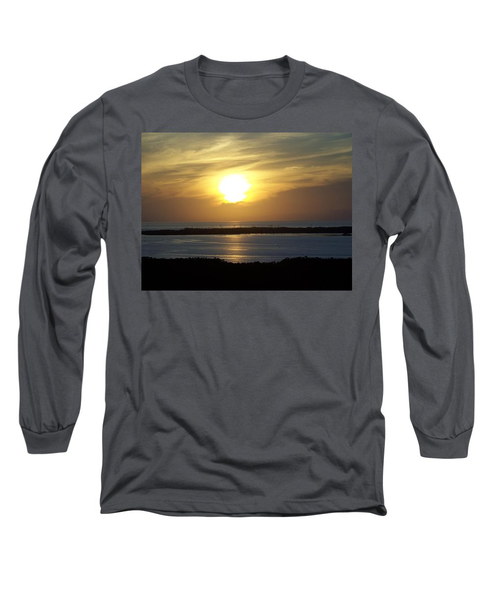 Sunset Long Sleeve T-Shirt featuring the photograph Sunset 0030 by Laurie Paci